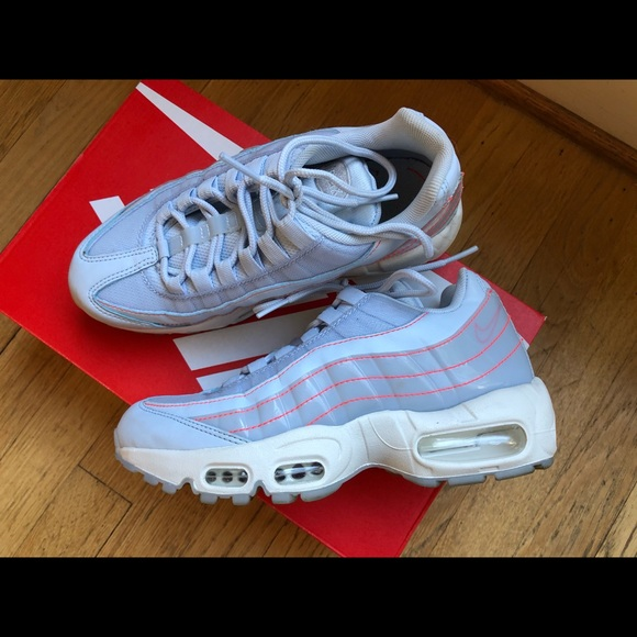 Nike Shoes | Nike Air Max 95 Half Blue